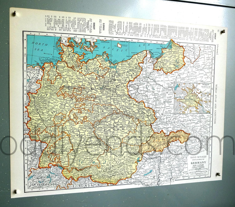 42-Deutschland Atlas Karte - Deutschland 1939 Karte