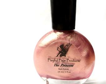 The Princess - Rose Gold - Vegan - Duochrome - Multichrome - Cruelty Free - Indie Nail Polish - Nail Polish - Nails - Nail Polishes