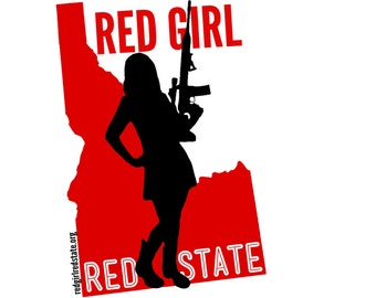 The NEW Red Girl  **Small
