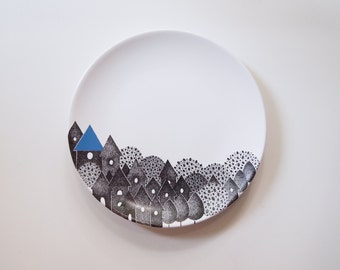 Into the woods Plate