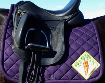 Be Ventursome! Purple Dressage Saddle Pad, The 24 Carrot Collection CD-71