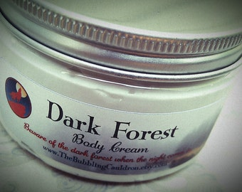 Body Cream - Dark Forest Body Cream - Werewolf Cream