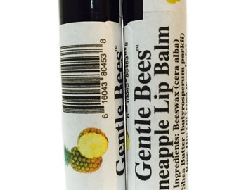 Gentle Bees Pineapple Lip Balm - 2 Pack