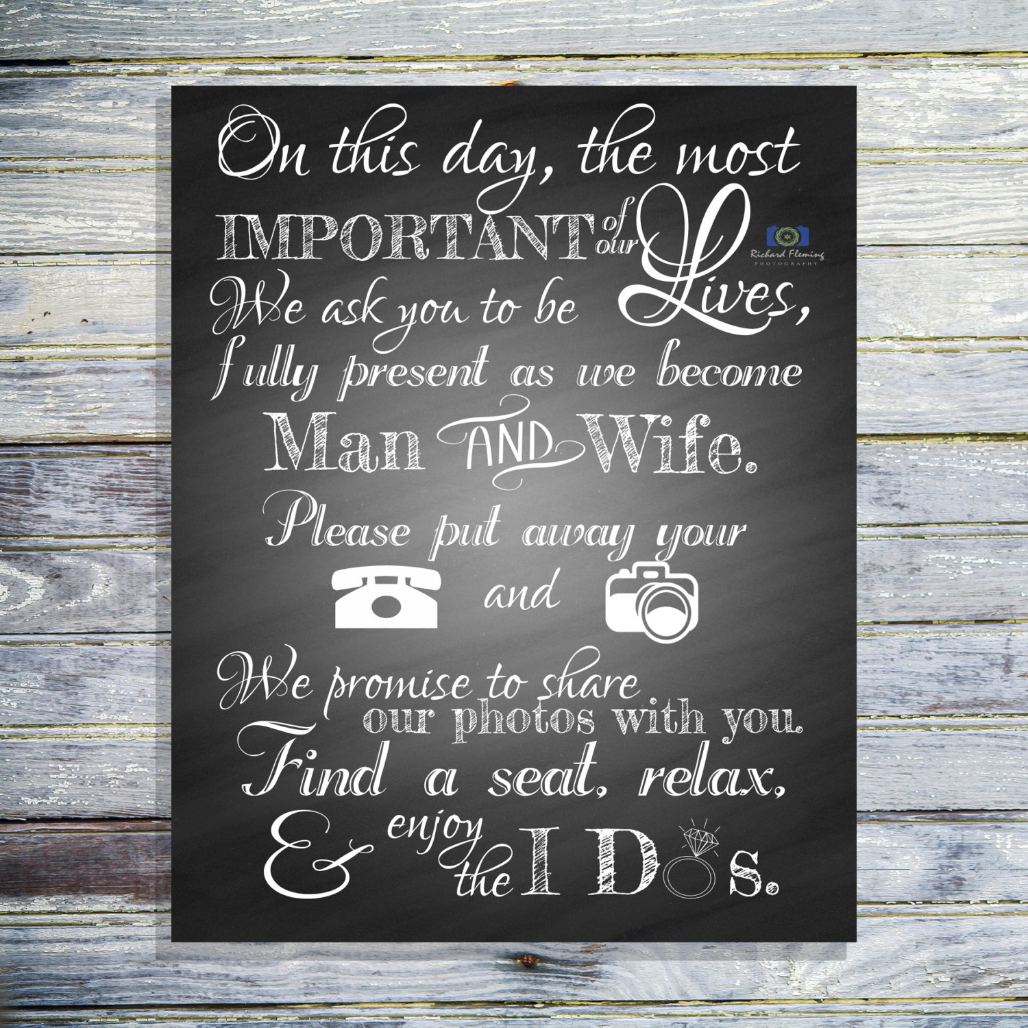 It's just an image of Stupendous Wedding Signage Printable