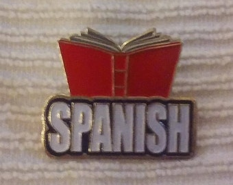 A Spanish Book - Lapel / Hat Pin!