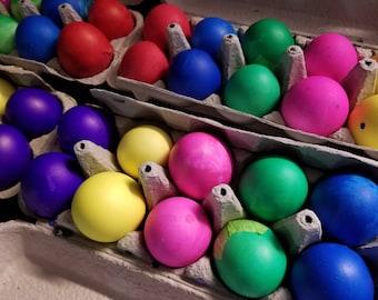 24 Mexican Confetti Eggs Cascarones, Easter, Cinco de Mayo, Fiesta Confetti, Wedding Decoration, Birthday Party, Taco Party, Paper Confetti
