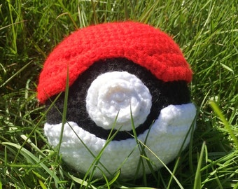 Large Crocheted Pokeball
