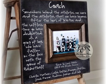 Basketball Coach Gift, Coach Thank You, Soccer Coach, Dance Team, Soccer Coach, Football, Cheerleading, End of Season Thank you Gift 16x16