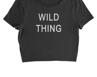 Wild Thing Cropped T-Shirt
