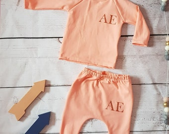Baby clothes, baby girls clothes, lounge set, baby tracksuit, baby pants, baby tshirt, toddler clothes, toddler clothing, girl clothes