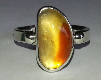 Mexican Fire Opal Size # 7.25