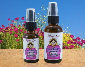 Sensitive People, Soothing Flower Essence Aromatherapy Spray, Organic, Reiki-Infused, Bach Flower, Empaths