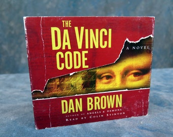 The Da Vinci Code Audiobook 5 CD Discs abridged Book Dan Brown 6 Hours