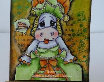 2139 Marie Antoniette Hippo Digi Stamp