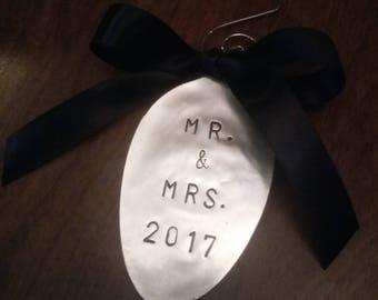 Mr & Mrs Christmas Ornament