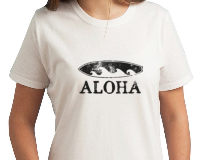 Aloha Surfboard Hawaiian T-Shirts for the whole family