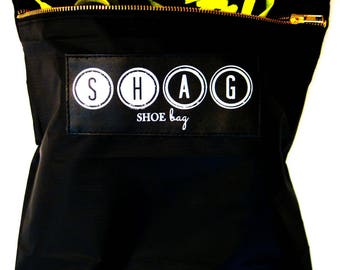 SHAG Shoe Bag // Stocking Stuffer // Travel Gifts // Commuter Jetsetter // Travel Bag // Travel Hack // Luggage Accessory // Useful Gift