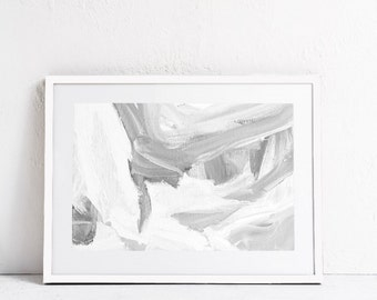 Modern Minimalist Art Print, Abstract Art Print, INSTANT DOWNLOAD, Black and White Wall Art-PRINTABLE Abstract Wall Art-Abstract Print-24x36