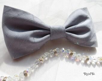 Dusty Blue Bow Tie, Blue/Gray Bow Tie, Blue/Grey Bow Tie, Groomsmen Bow Ties, Wedding Bow Ties