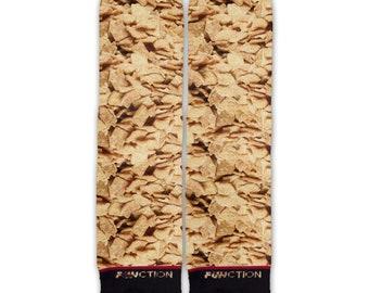 Function - Cinnamon Breakfast Cereal Fashion Sock