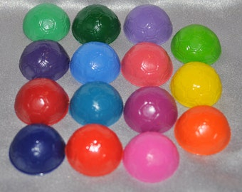 Soccer Ball Shaped Recycled Crayons, Total of 15 Crayons.  Boy or Girl Kids Unique Party Favors, Crayons.