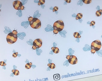 Busy Bee : Decorative Stickers