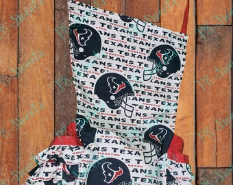 Houston Texans baby ruffled romper