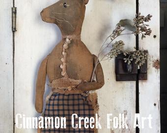 Miss Mary Jane - Digital Download - E-Pattern  by Cinnamon Creek Folk Art
