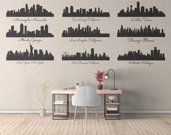 City Skylines - Multiple Colors and Sizes - Skyscrapers - Travel Destinations