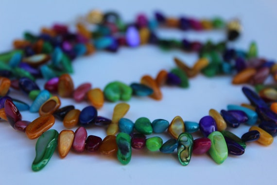 Chain For Glasses, Multi-Color Eyeglass Chain, Colorful Glasses, Bright and Bold Fiesta Colors Accessory