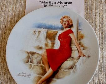 Plate, Marilyn Monroe, Niagra