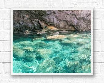 Greece print, water photography, Greece photography, water print, ocean photography, travel prints, Greece wall art photography, landscape