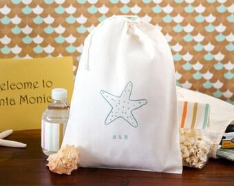 Destination Wedding Welcome Bags - Starfish Wedding Welcome Bag - Beach Wedding - Starfish Wedding Welcome Bags