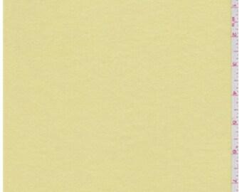 Yellow jersey knit fabric