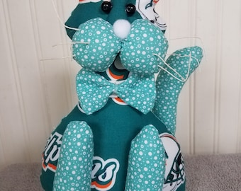 Miami Dolphins Football Cat