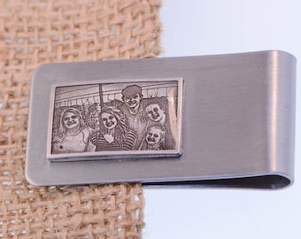 Money Clip - Personalized Photo Engraving