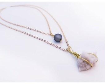 Celestial object necklace