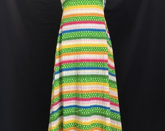 70's Albert Nipon Fiesta Dress