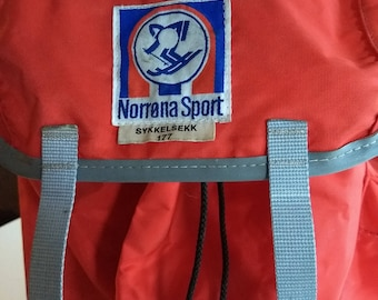 Vintage Norrøna Norway cycling bag