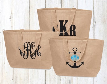 Tote Bag.Bridesmaid gift.Bridal party tote bags.Bachelorette party bags.Wedding tote bags