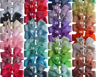 10-40 pcs Pinwheel Hair Bow with Elastic Bands 3.5'' Hairbow Baby Toddler Girls Hair Accessories PonyTail Holder Hair bands Dovetail bows