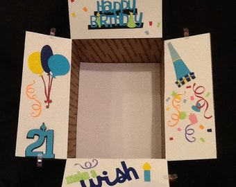 Care package flaps, happy Birthday