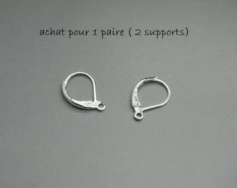 set of 10 pair (20 carriers) earring Silver (F25)
