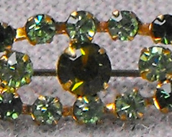 Small Green Collar pin