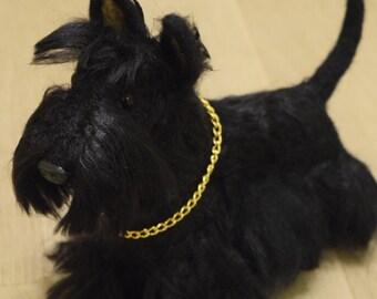 Needle felting dog Scottish Terrier