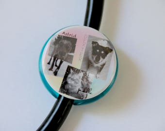 Pic Collage Intagram>> The ORIGINAL Stethoscope ID Tag--Custom Photo--
