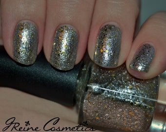 Bling, Bling - Super Chrome & Gold Glitter Nail Polish LIMITED EDITION