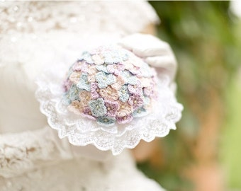 hand crochet bridal  bouquet wedding bouquet crochet bouquet
