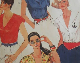 Out of Print Discontinued Sewing Pattern for Women's Tops