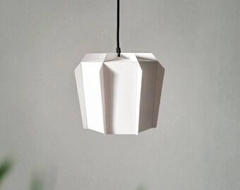 Great Paper Lamp | Geometric Lampshade | Printable PDF Pattern | DIY Paper Lamp  Shade